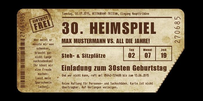 vollstark.de | ausgefallene einladungskarten der extraklasse, Einladung