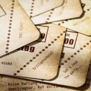 Einladungskarte Heimspiel