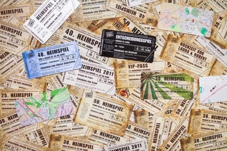 Einladungskarte Heimspiel Einladungskarten vom Designer