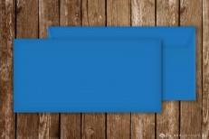 Briefumschläge für Einladungskarten, DinLang, blau