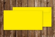 Briefumschläge für Einladungskarten, DinLang, gelb