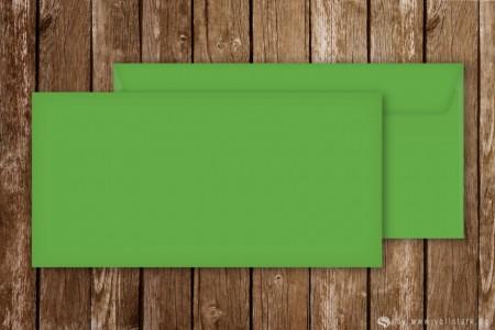 Briefumschläge für Einladungskarten, DinLang, grün