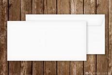 Briefumschläge für Einladungskarten, DinLang, weiss
