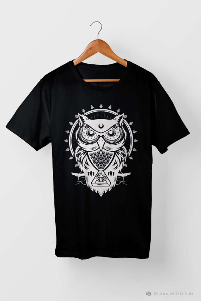 The Owl - Die Eule - T-Shirt