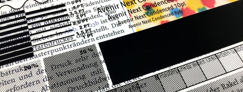 Hochdeckender Film für handgemachten Siebdruck