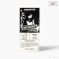 Konzertkarte als Einladungskarte Rocking Birthday