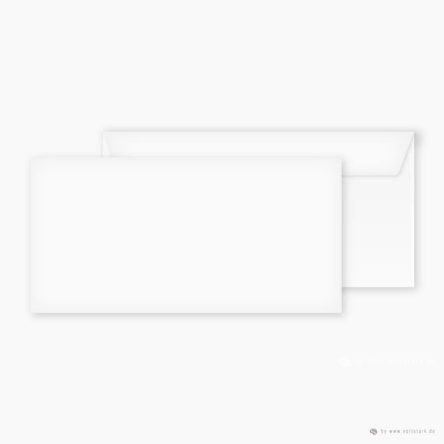 Briefumschläge für Einladungskarten